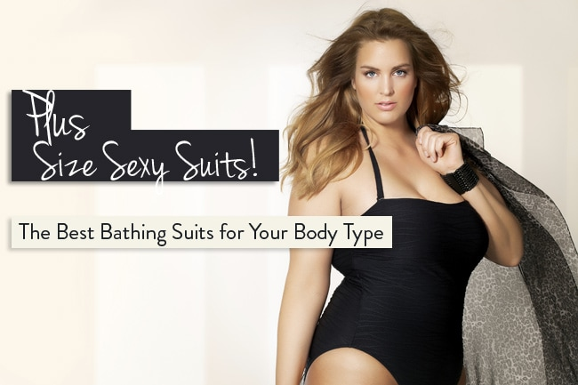 how to buy a plus sized bathing suit